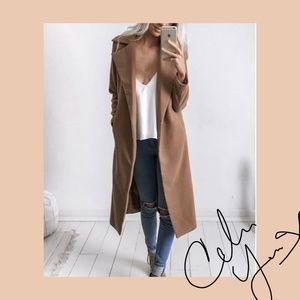 Sweaters - LONG BIEGE WINTER COAT